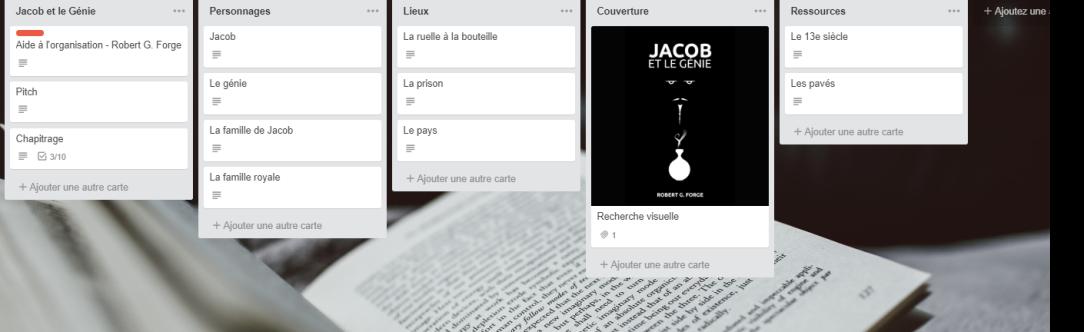 Comment j'organise mes histoires avec Trello : Jacob et le génie